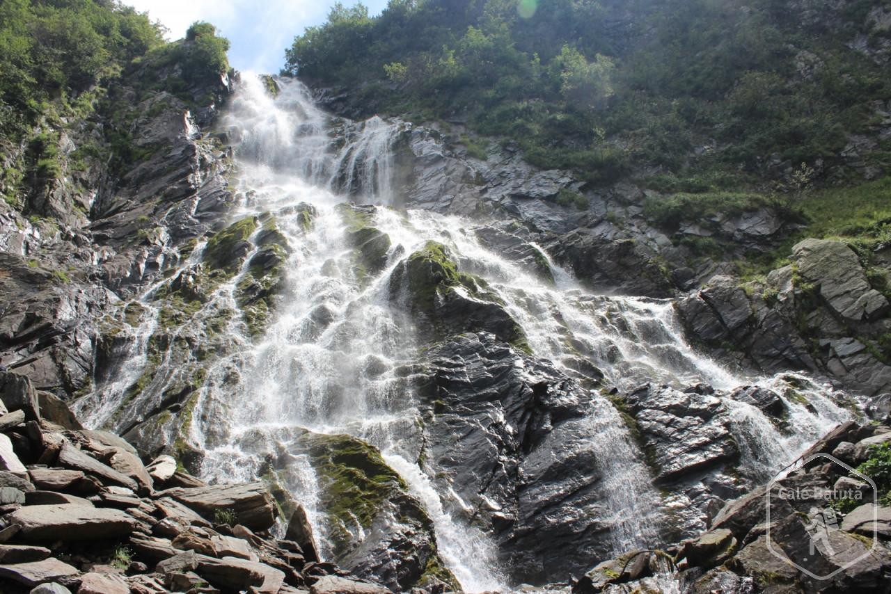 Prima ieșire a lui Răzvan la munte: Cascada Bâlea